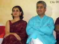 Rajdeep Sagarika 2 on dais