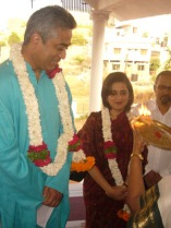 Rajdeep Sagarika welcome