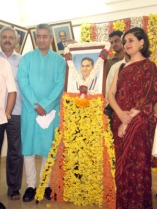 Rajdeep with Dilip Sardesai foto