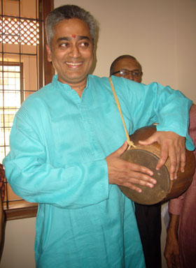 Rajdeep with Gumat