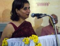 Sagarika talks