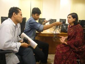 Sagarika with RR Harsha