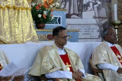 fr leo provincial on the altar