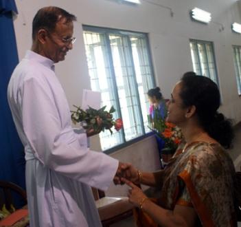 fr leo with dr smitha hegde