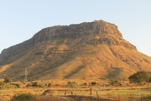 Manmad Fort and Caves - of Yadava Period
