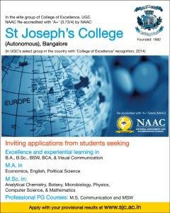 MS Communication, St Joseph's College (Autonomous), Bangalore
