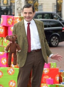 Rowan Atkinson - the affable Mr Bean. PHOTO:- GOOGLE/WEB