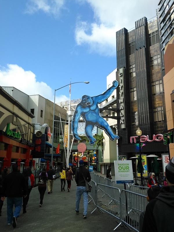 Universal - citywalk Kingkong