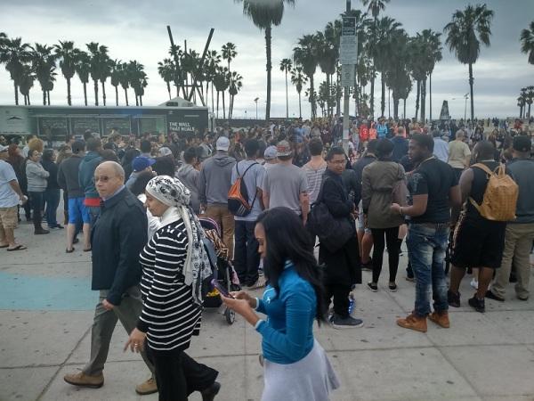 Venice-people street art
