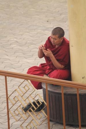 Tibet Monk mobile