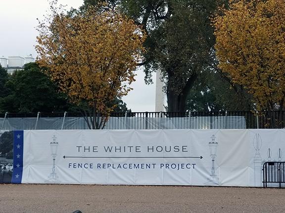 White House repair Washington